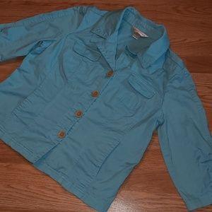Light Christopher and Banks jacket blazer